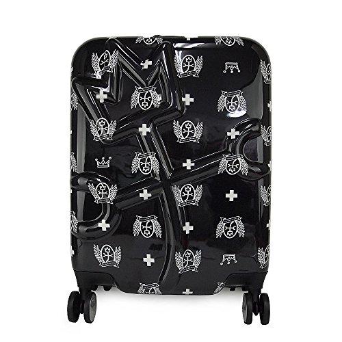(カステルバジャック) CASTELBAJAC 4輪スーツケース/キャリーバッグ 35L プラージュメタリックキャリー 069323 (クロ)
