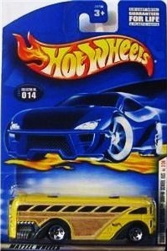Mattel Hot Wheels 2001 First editions Surfin' School Bus No. 2/36