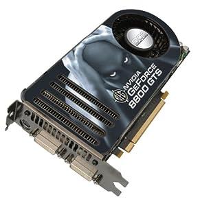 BFG NVIDIA GeForce 8800 GTS OC2 640MB PCI Express Graphics Card