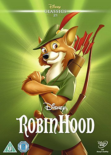 Robin Hood (1973) (Limited Edition Artwork Sleeve) [DVD]