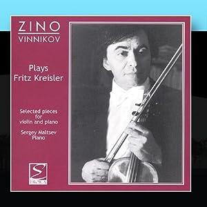 Plays Fritz Kreisler