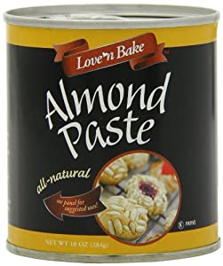 Love 'N Bake Baking Pastes, Almond Paste, 10-Ounce Cans (Pack of 3)