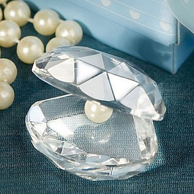 Zcl Choice Crystal Clamshell Favors