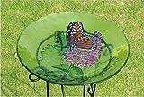 Monarch Lilac Bird Bath
