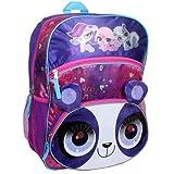 Littlest Pet Shop LPS Fuzzy Panda Backpack