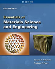 Essentials of Materials Science and Engineering SI by Donald R. Askeland