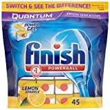 Finish Quantum Lemon (Pack of 1, Total 45 Tablets )