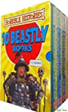 Terry Deary Horrible Histories 10 book box set - Ruthless Romans, Awful Egyptians, Groovy Greeks, Measly Middle Ages, Terrifying Tudors, Slimy Stuarts, Gorgeous Georgians, Vile Victorians, Frightful First World War, Woeful Second World War Terrifying B