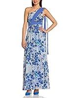 Manoukian Vestido (Azul Medio)