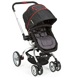 The First Years Wave Stroller, Black/Red