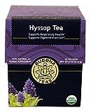 Hyssop Tea - Organic Herbs - 18 Sachets Bleach Free Tea Bags From Buddha Teas