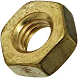Brass Hex Nut, Right Hand Threads, Inch