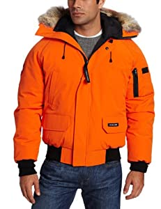 Canada Goose Men's Chilliwack Bomber (Sunset Orange, Small)