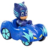 Disney's PJ Masks Cartoon Characters Catboy Owlette Gekko With Car Action Figure Toys Gift For Children (Catboy)
