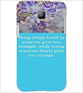 PrintDhaba Quote D-3719 Back Case Cover for SAMSUNG GALAXY J2 (Multi-Coloured)