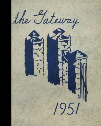 (Reprint) 1951 Yearbook: Nazareth Academy, Nazareth, Michigan