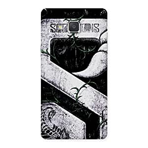 Delighted Score Print Back Case Cover for Galaxy Grand Max