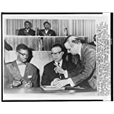 Photo: Patrice Emery Lumumba,Belgian Gaston Eyskens,Kinshasa