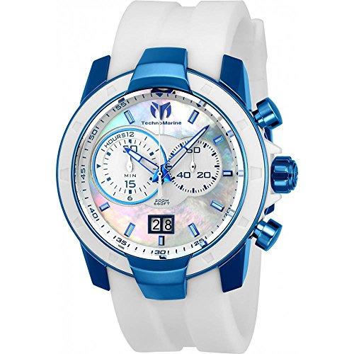 technomarine-uf6-homme-45mm-bracelet-silicone-blanc-boitier-acier-inoxydable-quartz-montre-tm-615008