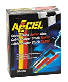 ACCEL 5040B 8mm Super Stock Spiral Universal Wire Set - Blue