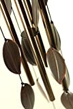 Gerson Bronze Leaf Wind chime 30""