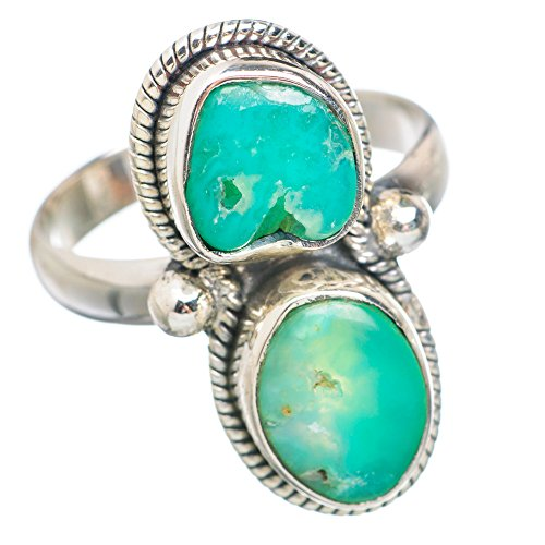 Ana Silver Co Chrysoprase 925 Sterling Silver Ring Size 8.75 RING764214