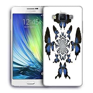 Snoogg kaleidoscopic butterflies Designer Protective Back Case Cover For Samsung Galaxy A7