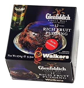 Walkers Glenfiddich Plum Pudding-8 oz