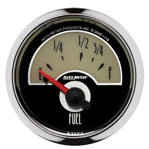 "Auto Meter 1115 Cruiser 2-1/16"" Short Sweep Electric Fuel Level Gauge"
