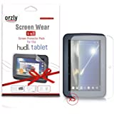 "ORZLY® Screen Protectors for Original Tesco Hudl - FIVE PACK of Transparent Screen Guards - 5-in-1 Screen Protector Multi-Pack from ORZLY designed for use with 7 inch Hudl Tablet (Tesco's first ever 7"" Tablet - Released in 2013)"