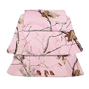 Realtree AP Pink Sheet Set, Twin