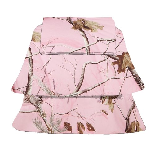 Realtree Ap Pink Sheet Set, Twin front-227221