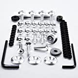 Aluminium Fairing Kit Suzuki TL1000R Silver