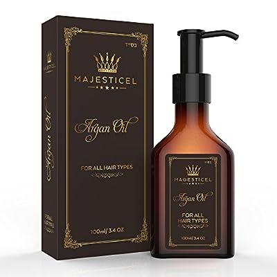 Majesticel Argan Oil Serum for Hair, 3.4 ounce