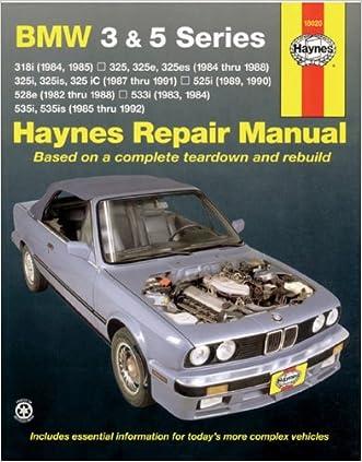 BMW 3 & 5 Series  '82'92 (Haynes Repair Manuals)