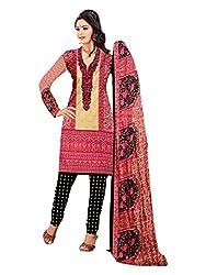 Subhash Sarees Multi Color Colored Micro Chiffon Printed Dress Material
