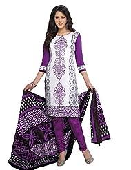 AASRI Women Cotton Unstitched Salwar Suit - B015N8P84G