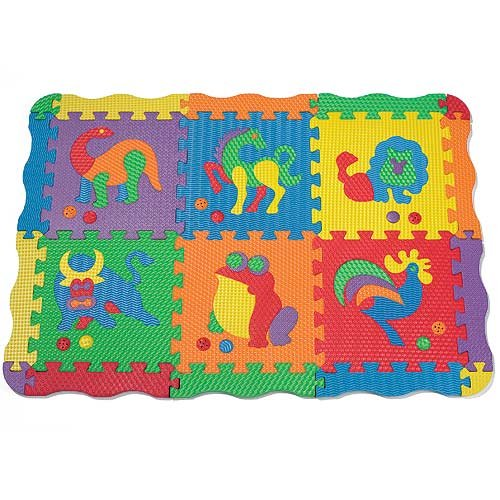 Cheap One Step Ahead Playsounds Foam Animal Puzzle Mat with Sounds (B002YQPCTM)