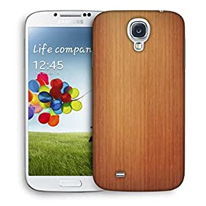 Snoogg Plain Wood Laminate Printed Protective Phone Back Case Cover For Samsung S4 / S IIII