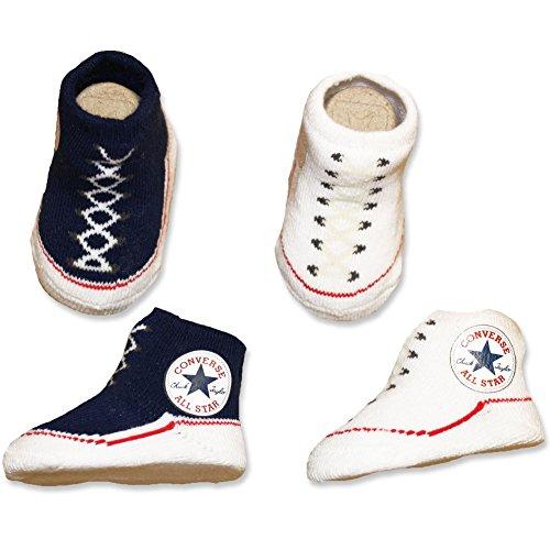 Converse bl coffret de 2 paires de chaussettes blanc