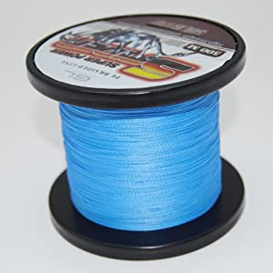 SuperPower Saltwater Blue Braided Fishing Line 500M / 547 Yard Dyneema Fiber