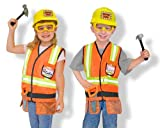 51R gUnhVvL. SL160  Melissa and Doug Construction Worker Role Play Set Reviews