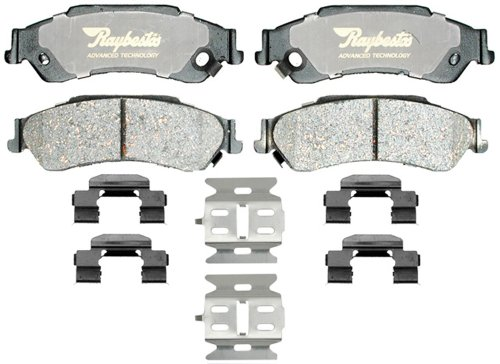 Disc Brake Pad Set-Advanced Technology Metallic Disc Brake Pad Rear Raybestos