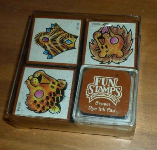 Jungle Kings Rubber Stamp Set - 1