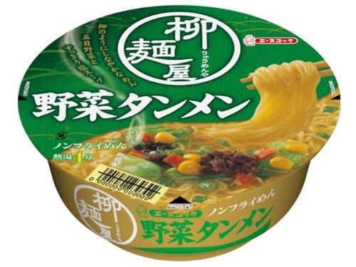 エースコック 柳麺屋 野菜タンメン 79g×12個