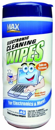 Max Professional 2091 Electronic Cleaning Wipes,