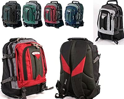 "Jeep 17"" 15"" Padded Laptop Backpack Sports Rucksack School Travel Cabin Approved Bag from Jeep"