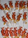 Disney Tigger Gourmet Chocolate Birthday Lollipop Sucker Pops Favors 1 Dozen