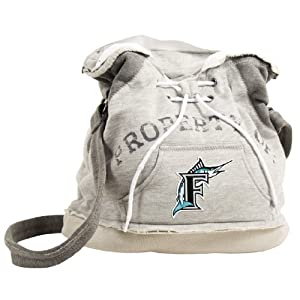 MLB Florida Marlins Hoodie Duffel by Pro-FAN-ity Littlearth