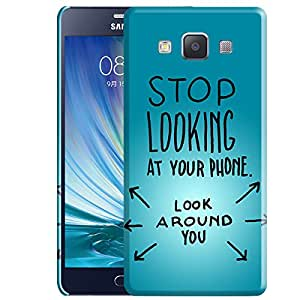 Theskinmantra Pattern 35 back cover for Samsung Galaxy A7
